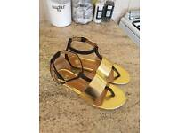 Girls river island sandals size 11