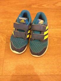 Adidas Size 9 Kids Trainers