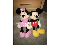 Micky and minne teddy's
