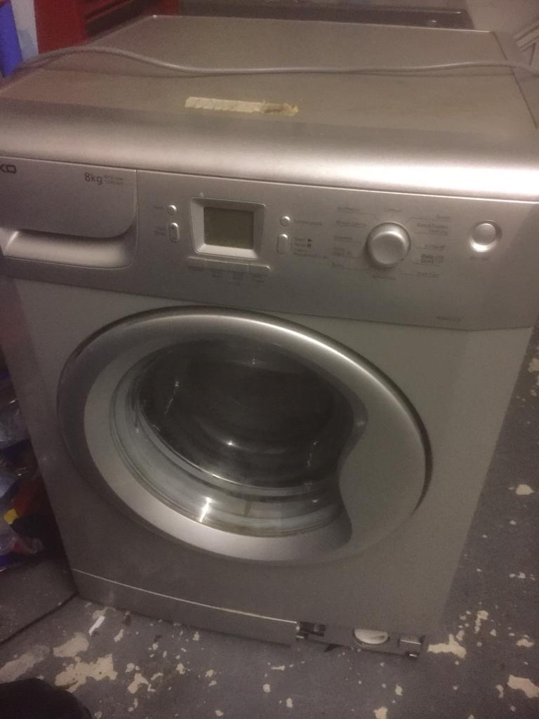 8kg beko washing maching