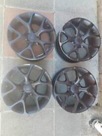 18 inch Vauxhall vxr Alloys / wheels / rims