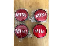 Set of 4 wheel centre caps for Mini