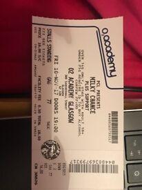 2x Milky Chance tickets for Glasgow