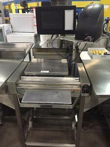 Hobart Wrapping Station / Scale / Printer - Food Wrap Machine - Commercial Packaging - iFoodEquipment.ca