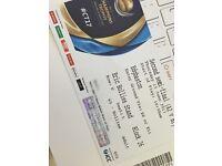 Semi final ICC cricket tickets for Edgbaston