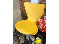 Next Yellow chairs x4