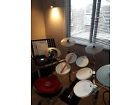 Drum practice room available with KAT electronic kit with amp if required