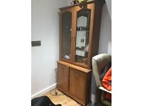Free standing cabinet with lighting 💡