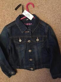 BNWT Bluezoo Girls Denim Jacket, Age 6