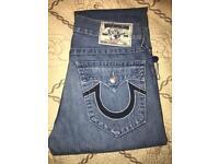 True religion straight 32 jeans