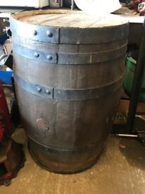DECORATIVE WHISKEY BARREL FOR SALE