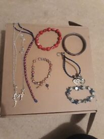 Selection of children's jewelery