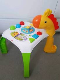 Fisher price activity table toy