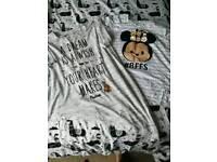 2 Disney t shirts. Size 14