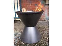 Cotton Reel Fire-Pit / wood / Log Burner