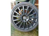 "Genuine vw golf r32 18"" 5x100 alloys"