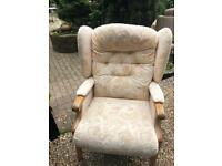Comfy armchair top quality as new condition ....