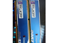 4 x 4 GB DDR3 Kingston 1600