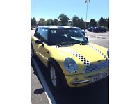 Mini Cooper 2002 - 2 owners from new. Mot until March 2017. New gear box and clutch