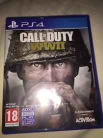 CALL OF DUTY WWII BRAND NEW