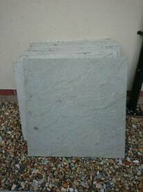 600mm x 600mm patio slabs