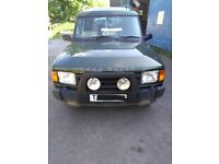 Landrover Discovery with 6 months MOT, Selling for Spares or Repairs