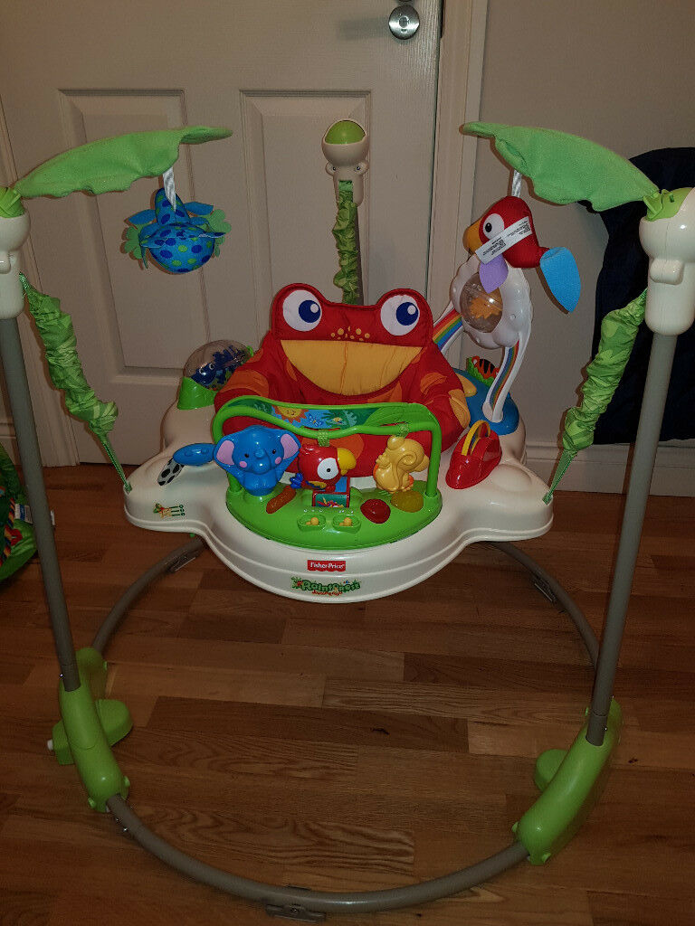 ee43a4f64 Fisher-Price K6070 Rainforest Jumperoo
