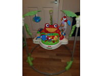 Fisher-Price K6070 Rainforest Jumperoo, BOXED, AS NEW CONDITION, £60 ONO