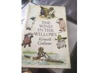 """"""" classic"""" The wind in the willows hardback sleeved vintage book"""