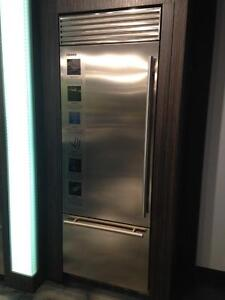 "Fhiaba X7490TST3IU Built-In Refrigerator 30"" wide 84"" High Reg $11,449 Clearance $5999 call  (416) 901 7557"