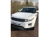 Land Rover Range Rover Evoque 2.2 SD4 Pure AWD 5dr PANROOF+LEATHER+HSEATS+DAB+FSH