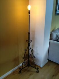 Victorian Standard Lamp in Black.
