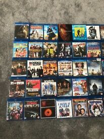45 blu ray movies collection