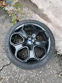 """Ford 18"""" alloy wheels, only 2."""