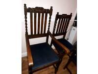 Solid Mahogany Chairs