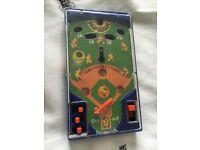 handheld toy vintage collectable homerun baseball game, stocking filler/xmas gift