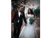 Wedding dress Florence Callista 16-18