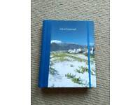 Travel itinerary book/journal