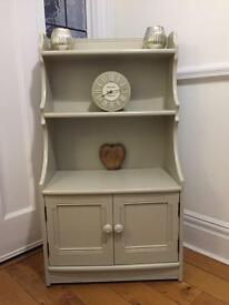 Ercol bookcase/cabinet - light grey