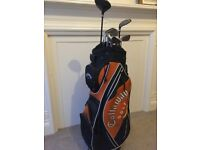 Men's Golf Clubs and Bag, plus accessories