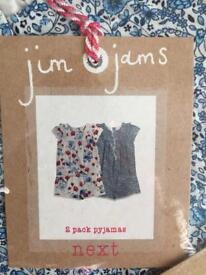 Next girl pyjamas 1 1/2-2 years