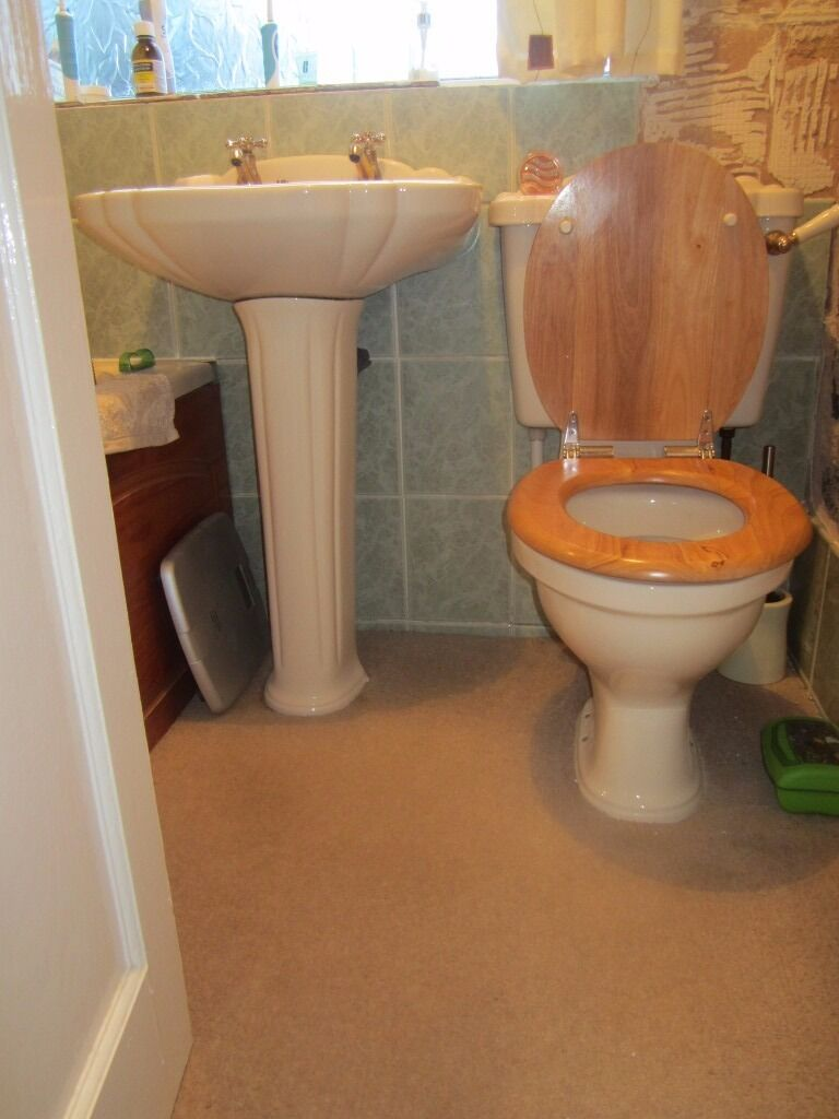 Champagne Bathroom Suite Bathroom Suite Champagne Immaculate Condition As New Complete