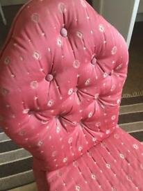 Vintage Ladies bedroom chair
