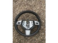 Vauxhall Astra h sri 2010 leather steering wheel 07594-145438