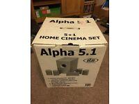 Eltax Alpha 5.1 surround sound speakers with sub-woofer