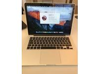 "Apple 2015 MacBook Pro Retina 13"" 2.7GHz I5 128GB SSD 8GB"
