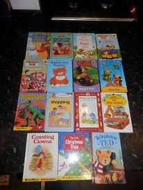 Selection of childrens books in good condition