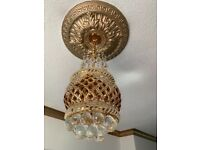 Crystal celling light