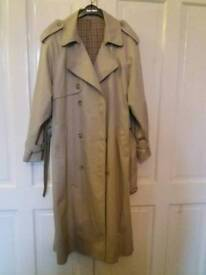 Men's trench coat Xl