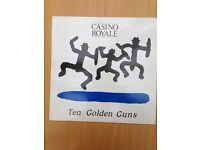 Casino Royale, Ten Golden Guns, Original Vinyl LP (Blue stripe version) excellent condition, £20